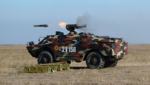 Un 9P148 de las Fuerzas Armadas de Rumania, foto archivo - Sputnik Mundo