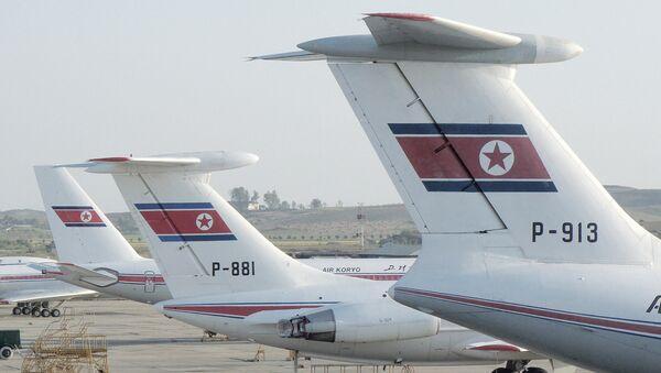 Aviones de la compañía aérea Air Koryo, foto archivo - Sputnik Mundo