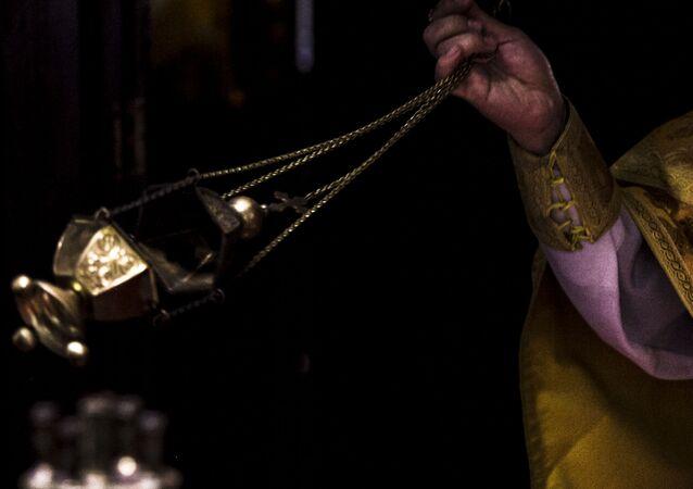 Una misa ortodoxa (imagen referencial)