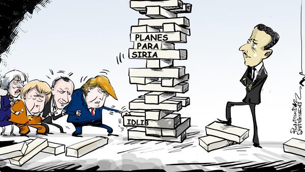 Momento crucial: Occidente se pone histérico por la situación en Idlib - Sputnik Mundo