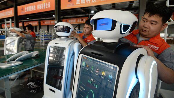 Una fábrica china de robots - Sputnik Mundo