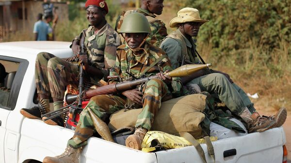 Militares en la República Centroafricana - Sputnik Mundo