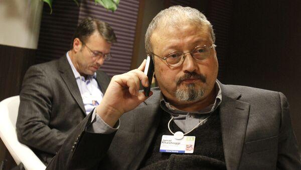 Jamal Khashoggi, periodista saudí - Sputnik Mundo