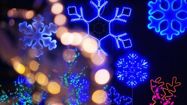 Iluminación navideña - Sputnik Mundo