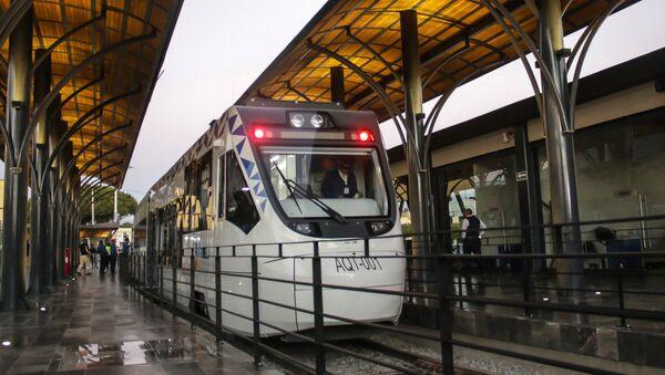El Tren Turístico Puebla-Cholula - Sputnik Mundo