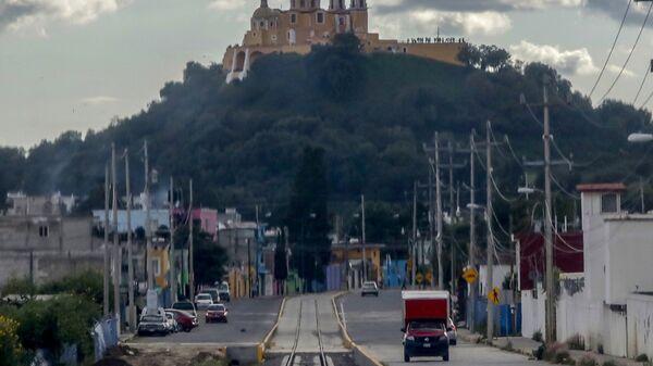La vía del Tren Turístico Puebla-Cholula - Sputnik Mundo