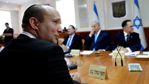 Naftalí Bennett, el ministro israelí de Educación - Sputnik Mundo