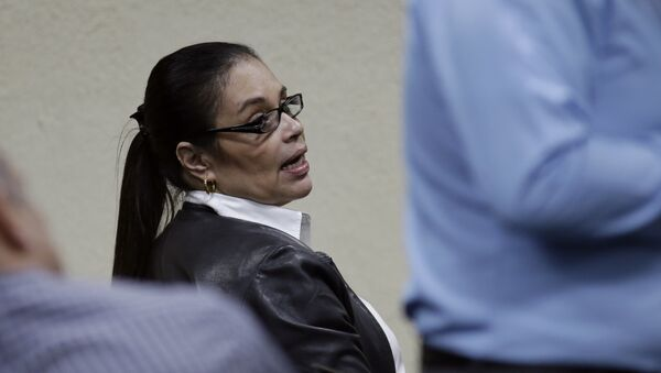 Roxana Baldetti, exvicepresidenta guatemalteca en el Tribunal de Guatemala - Sputnik Mundo