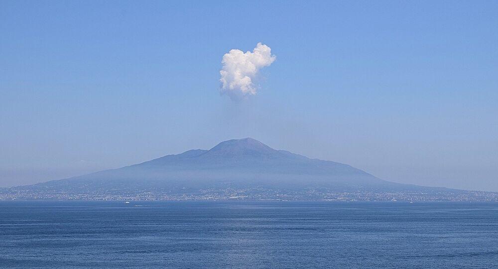 El volcán, imagen referencial