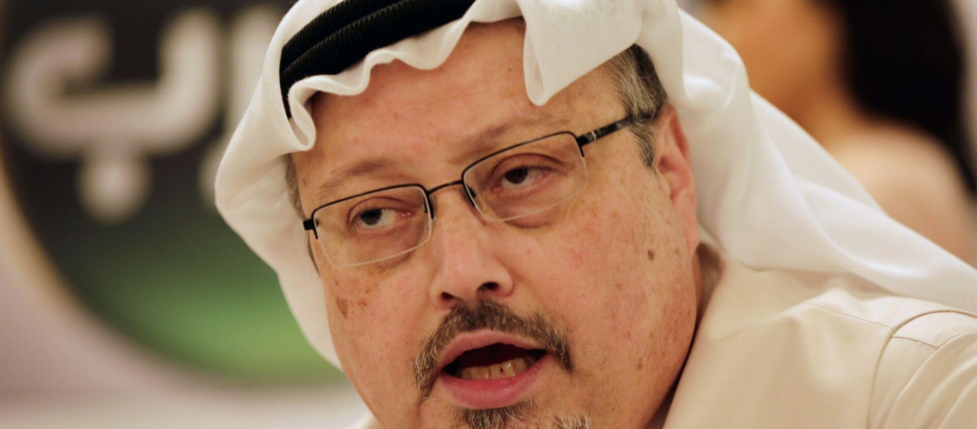 Jamal Khashoggi, periodista saudí  - Sputnik Mundo, 1920, 15.01.2021
