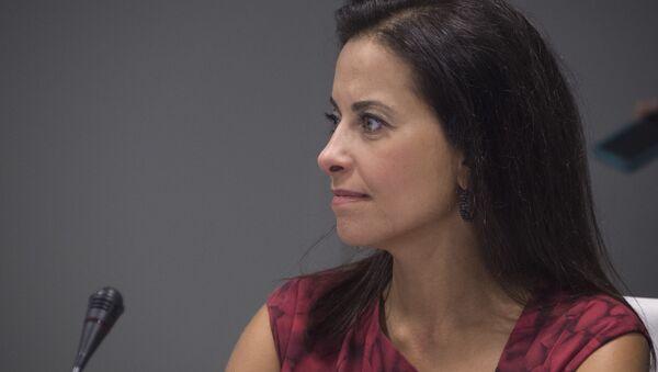 Dina Powell, exconsejera de Seguridad Nacional de presidente de EEUU - Sputnik Mundo