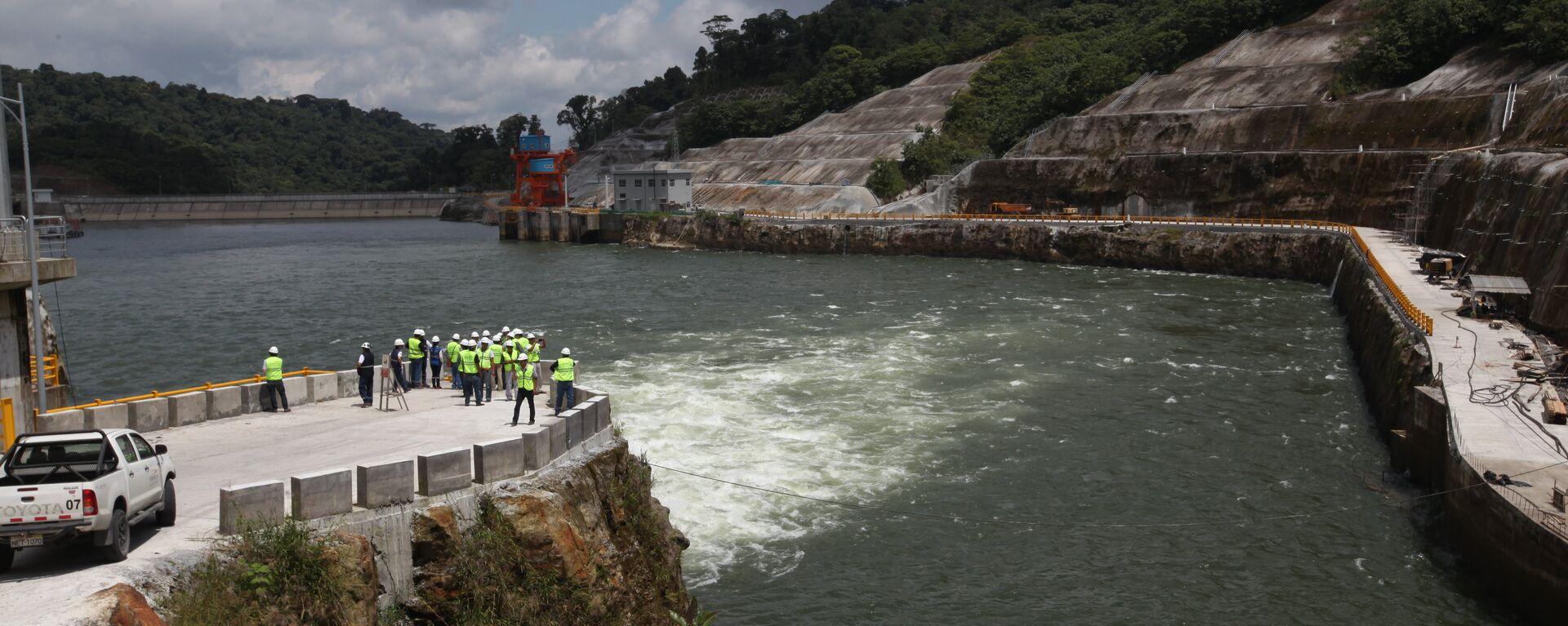 La central hidroeléctrica ecuatoriana Coca Codo Sinclair - Sputnik Mundo, 1920, 20.05.2021