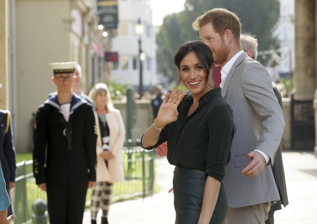 Meghan Markle y el príncipe Harry visitan Sussex