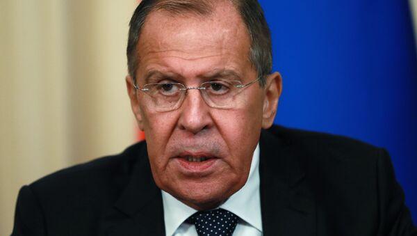 Serguéi Lavrov, ministro de Exteriores ruso - Sputnik Mundo