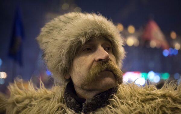 Un cosaco ucraniano (imagen referencial) - Sputnik Mundo