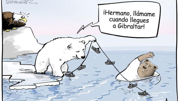 ¿Bloquearle las aguas al oso? ¿Seguro? - Sputnik Mundo