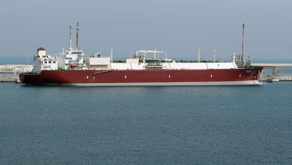 Un buque de gas licuado de petróleo (imagen referencial) - Sputnik Mundo