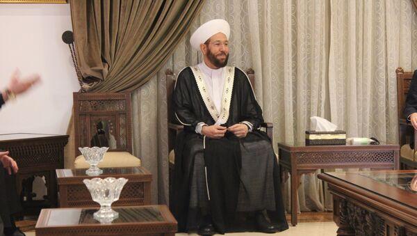 Ahmad Badreddin Hassoun, el gran muftí de Siria - Sputnik Mundo