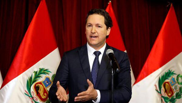 Daniel Salaverry, presidente del Congreso de Perú - Sputnik Mundo