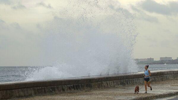 El huracán Michael en Cuba - Sputnik Mundo
