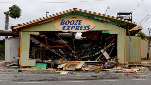 El huracán Michael en Florida - Sputnik Mundo