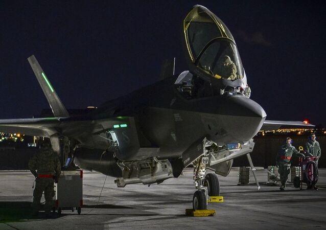 Un F-35, foto archivo