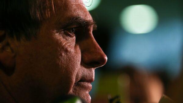 Jair Bolsonaro, candidato a la presidencia de Brasil, en 2016 - Sputnik Mundo