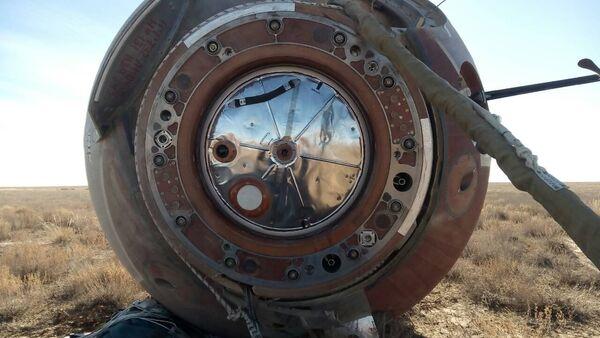 La cápsula de la nave espacial Soyuz MS-10 - Sputnik Mundo