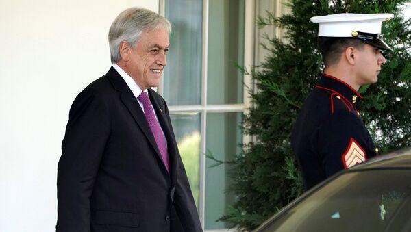 Sebastián Piñera, presidente de Chile - Sputnik Mundo