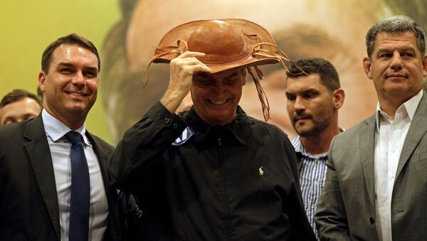 Jair Bolsonaro, candidato a la presidencia de Brasil - Sputnik Mundo