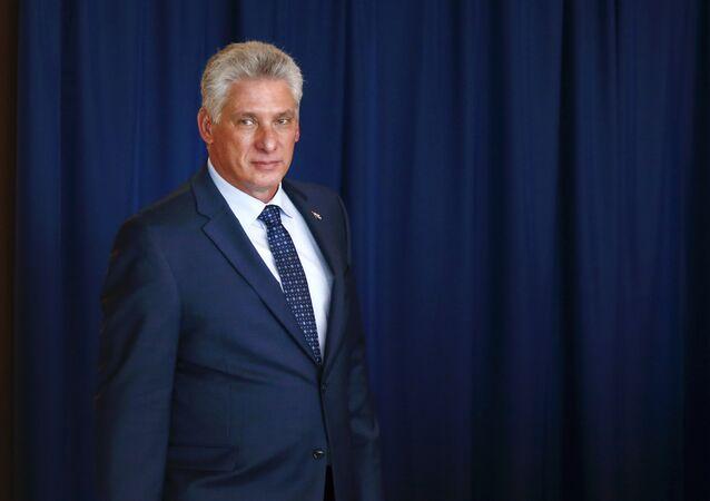 Miguel Díaz-Canel, el presidente cubano