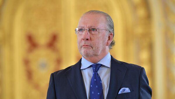 Fernando Valderrama Pareja, nuevo embajador de España en Rusia - Sputnik Mundo