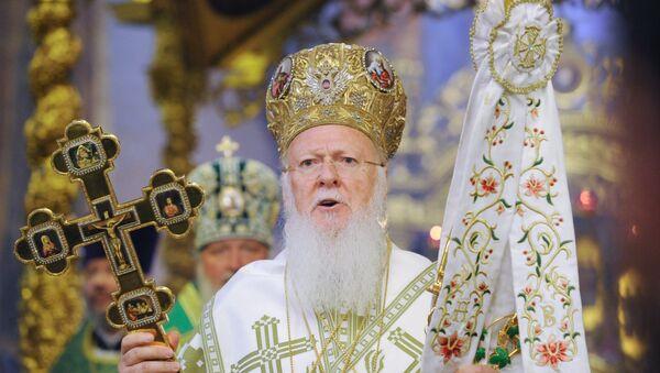 Bartolomé, el patriarca de Constantinopla - Sputnik Mundo