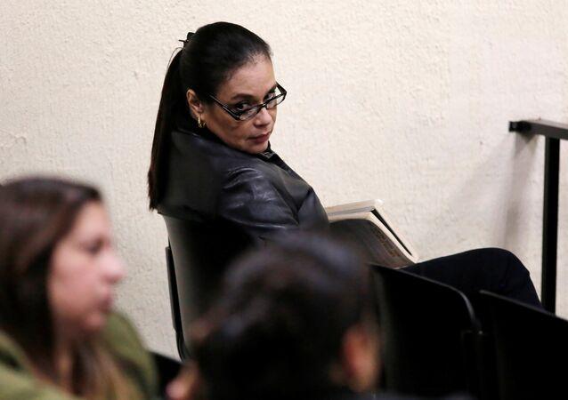 Roxana Baldetti, exvicepresidenta guatemalteca