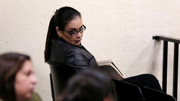 Roxana Baldetti, exvicepresidenta guatemalteca - Sputnik Mundo