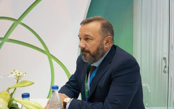 El presidente de BIOCAD, la compañía rusa de biotecnología innovadora, Dmitri Morózov - Sputnik Mundo