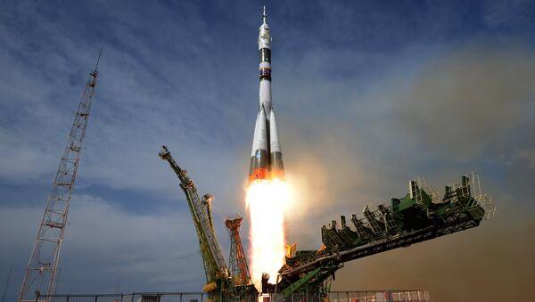 El lanzamiento de un Soyuz - Sputnik Mundo