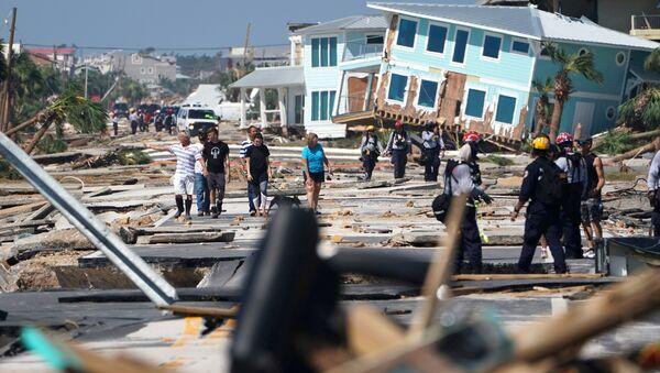 Consecuencias del huracán Michael - Sputnik Mundo