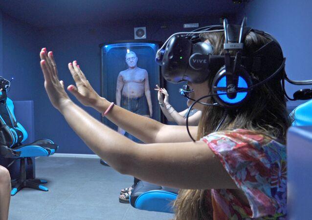 La primera experiencia de realidad virtual inmersiva de Latinoamérica en la sala Juegos Mentales VR