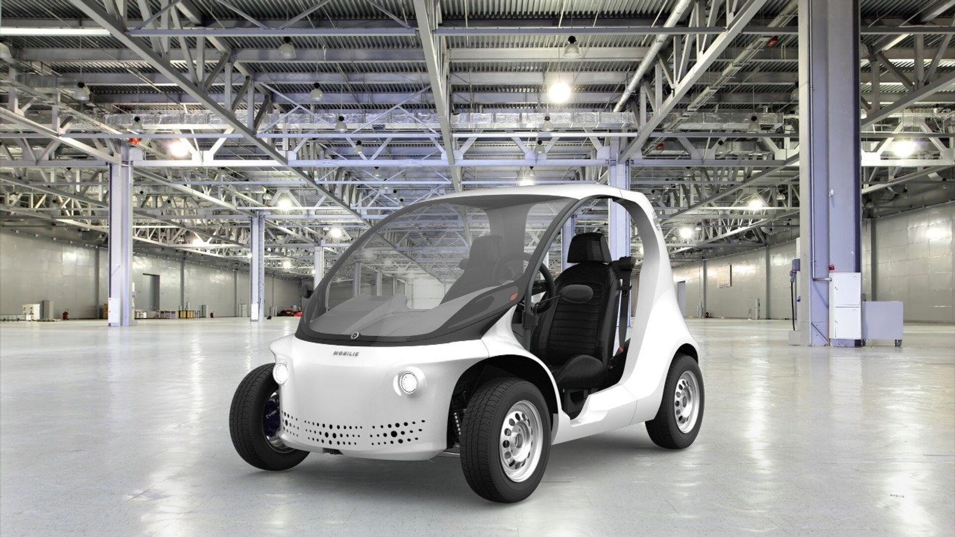 El automóvil eléctrico desarrollado por la  empresa emergente de Santa Catarina - Sputnik Mundo, 1920, 29.03.2021