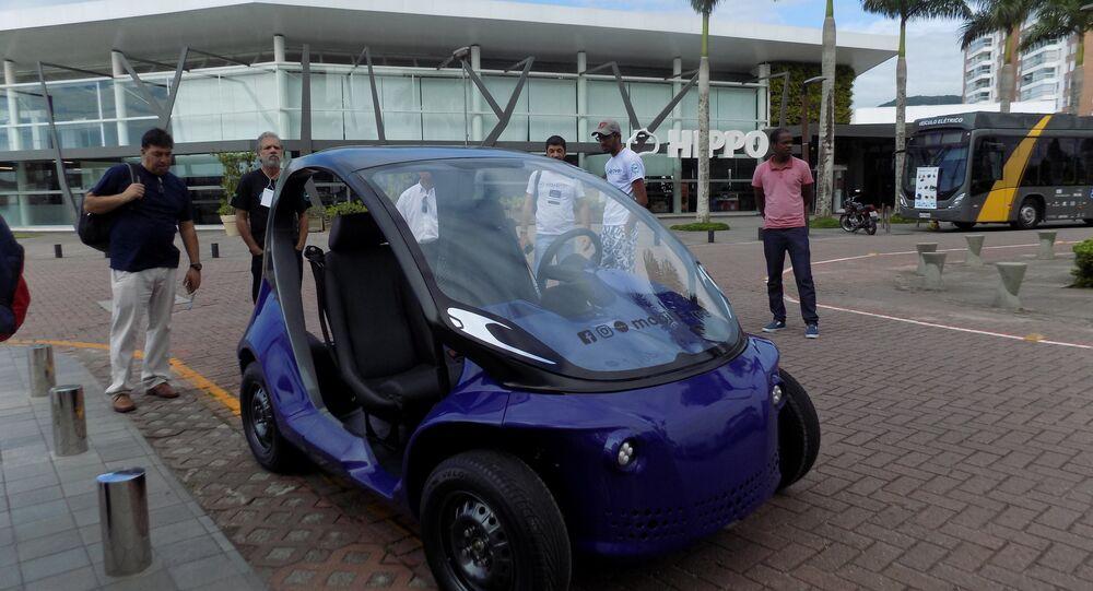 El primer automóvil eléctrico de Brasil