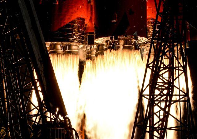El lanzamiento del Soyuz (archivo)