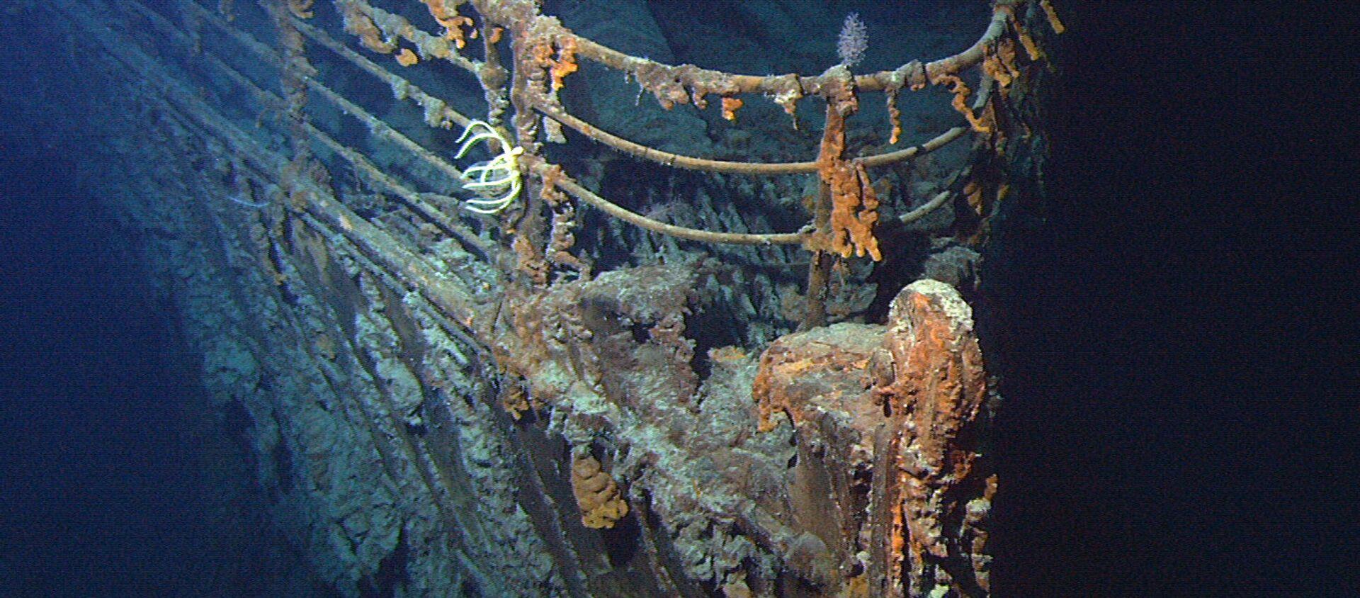 Restos del Titanic - Sputnik Mundo, 1920, 05.11.2020