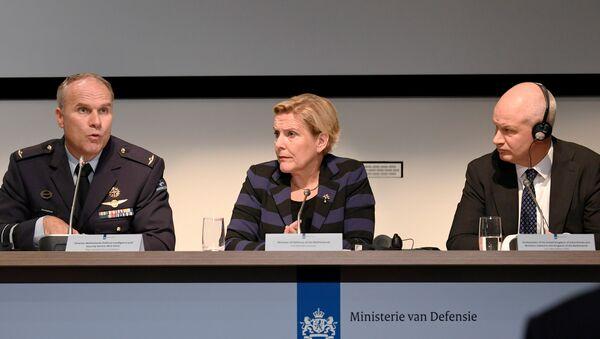 Ank Bijleveld, ministra holandesa de Defensa (archivo) - Sputnik Mundo