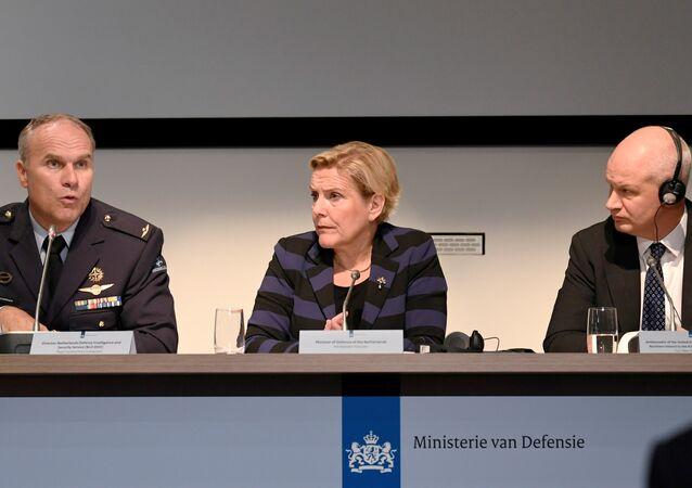 Ank Bijleveld, ministra holandesa de Defensa (archivo)