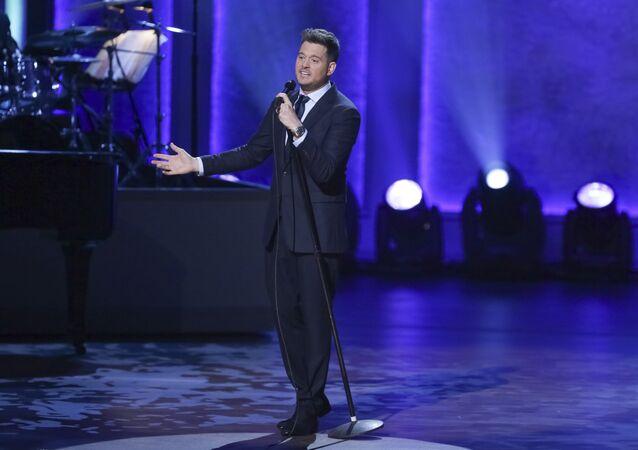 El cantante Michael Bublé