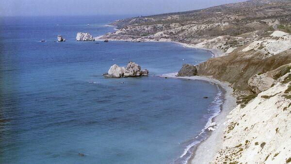 Vista de la costa de Chipre - Sputnik Mundo