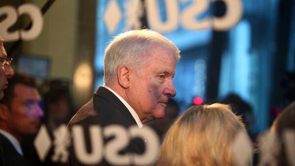 Horst Seehofer, ministro del Interior federal de Alemania y líder de la Unión Social Cristiana (CSU) - Sputnik Mundo