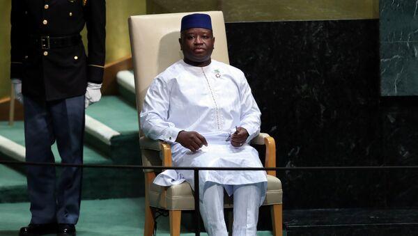 Julius Maada Bio, presidente de Sierra Leona - Sputnik Mundo