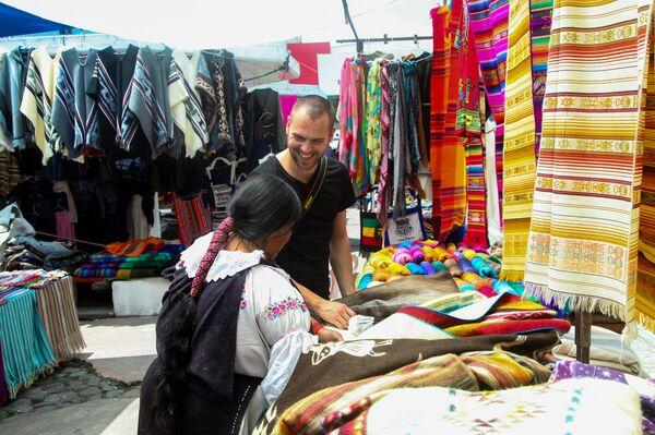 Mercado de Otavalo (Ecuador) - Sputnik Mundo